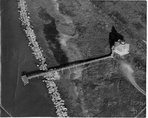 Aerial Photo of Fort Point, TX