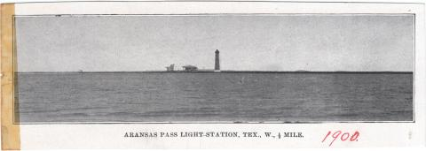 Aransas Pass Light List Illustration