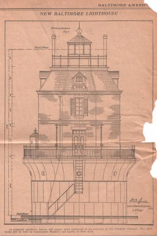 Baltimore front elevation