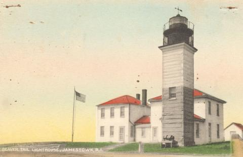 Beavertail postcard