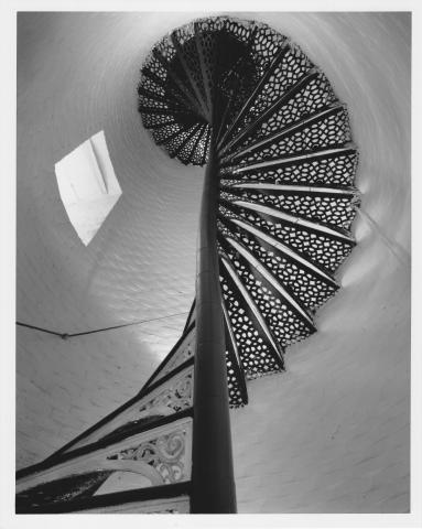 stairway in lighthouse tower