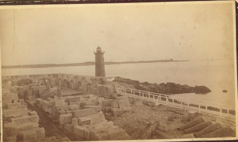 Portsmouth Harbor Lighthouse - late 1800s
