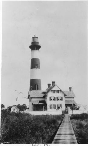 Morris Island Lighthouse & Dwelling