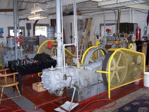 Electrical Generators - Compressors: East Brother Island CA
