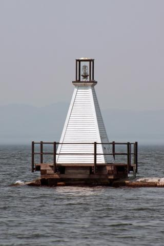 Burlington Breakwater South Lighthouse