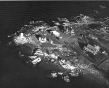 Annisquam Harbor aerial view