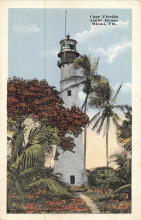 white tower postcard