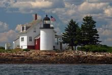 Blue Hill Bay Lighthouse in 2009
