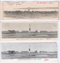 Absecon Illustrations from Light List