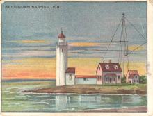 Annisquam Harbor tobacco card
