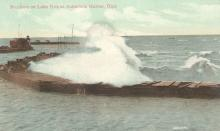 Ashtabula Harbor West Pier Range Front, OH 1913 SA (01)