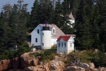 Light station viewed from water