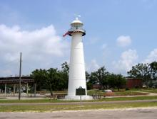 modern view of lighthouse
