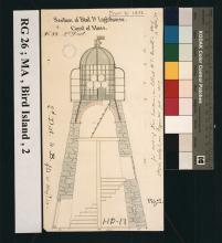 cross section of lighthouse