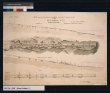 drawing showing proposed improvements for boat railway