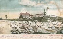 Burnt Island postcard