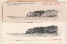 Cape Disappointment Light List Illustrations