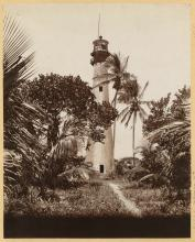Lighthouse after attack