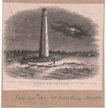 Cape Hatteras 1861 clipping