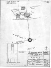 Cape Lookout Lighthouse Plot Plan