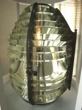 Lens from Fourteen Foot Bank Lighthouse