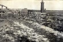 Late 1800s view of lighthouse