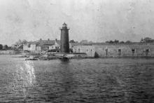 late 1800s view from water