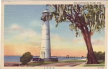 1940 postcard of tower