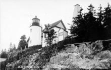 Bass Harbor Head postcard