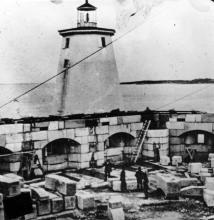 Portsmouth Harbor and Fort Constitution - c. 1860s