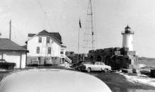 Portsmouth Harbor dwelling and tower - late 1950s