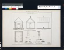 Cape Meares Mineral Oil Store House Architectural Plans