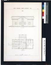 Cape Meares Barn Architectural Plans