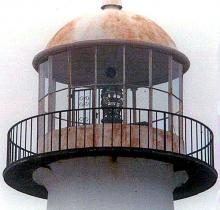 lantern showing rust