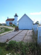 Boat House: Sand Point Escanaba MI