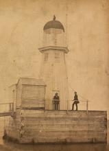 Ashtabula East Pier OH 1859