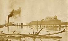 Choctaw Point Depot AL 1903