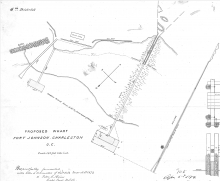 drawing of the site